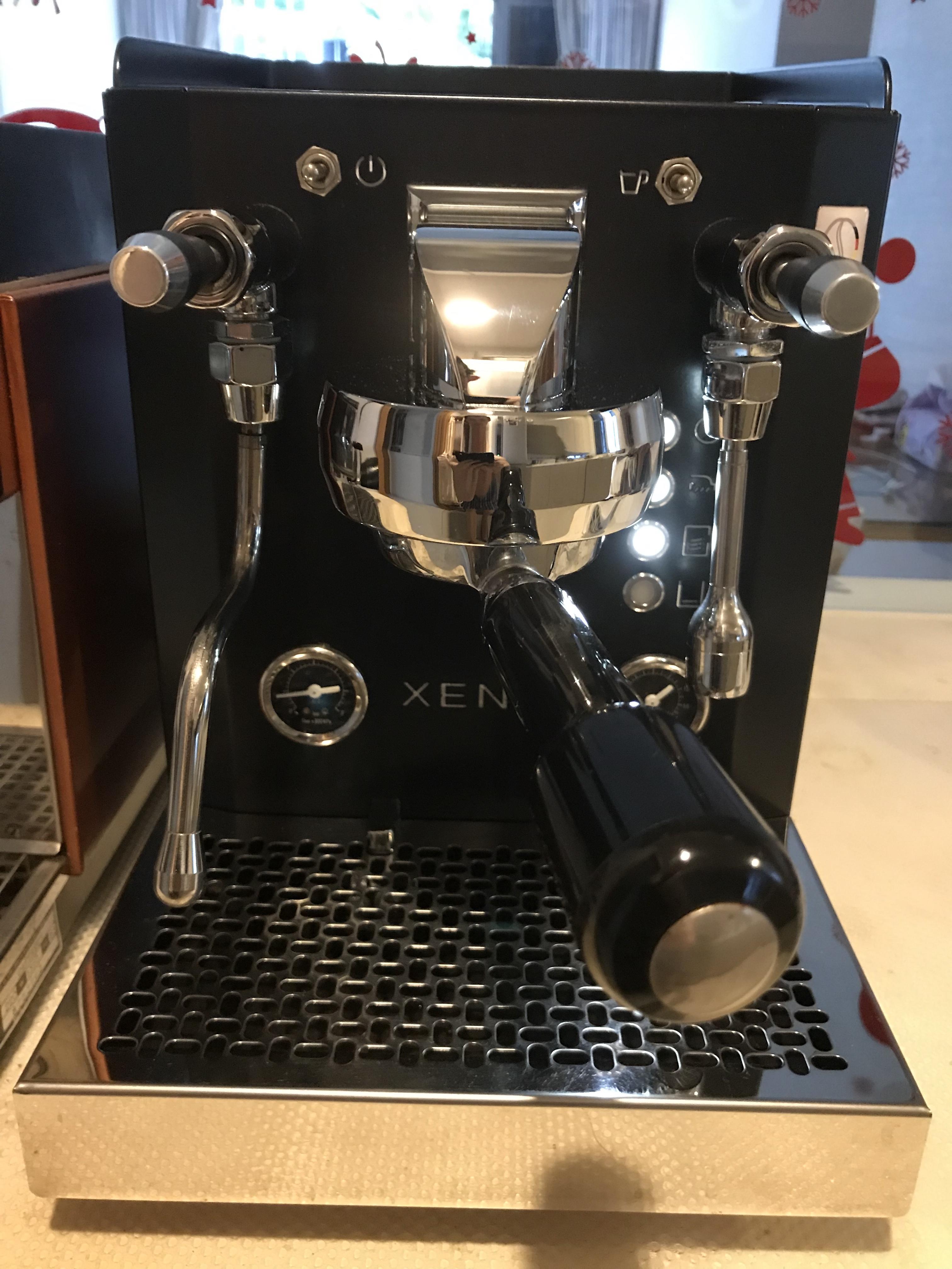 Xenia Espresso Machine (Model H) Black • Coffee in a Place